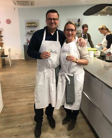 Successfull workshop! Thomas Hahn (50) and Katharina Bolender (35).