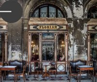 The world famous Caffè Florian on St. Mark's Square.
