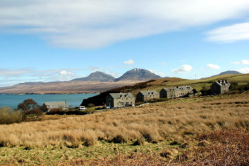 Typical landscape: Overlooking Bunnahabhain, Islay, Scottland (Photo: Islay Tourist)