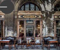 Das weltberühmte Caffè Florian am Markusplatz.