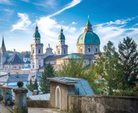Der Salzburger Dom im barocken Stil