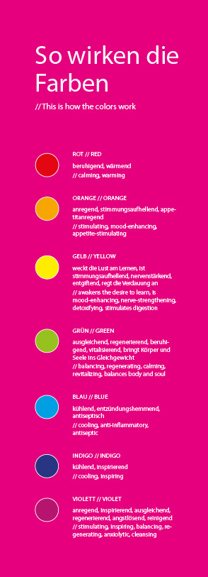 So wirken die Farben