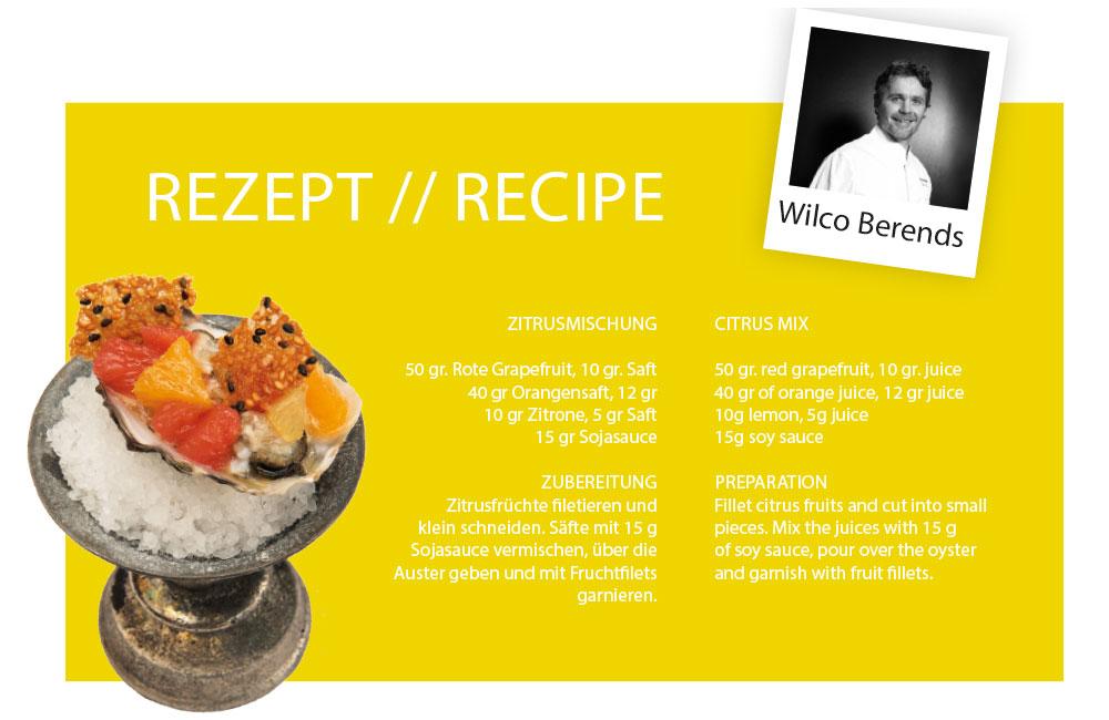 Rezept von Wilco Berends