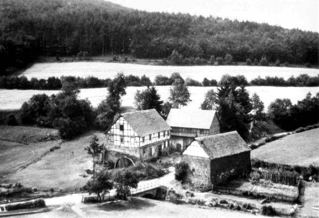 The Bärenmühle around 1900