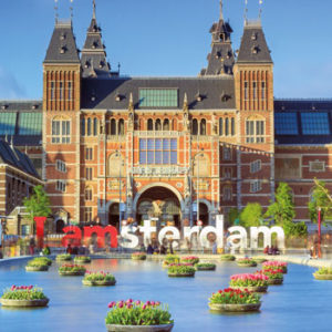 Central place for art fans: the Rijksmuseum