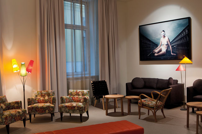 Kunst im Romantik Hotel Altstadt Vienna