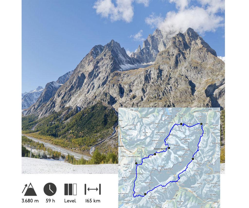 Einmal um den Mont Blanc (CH)