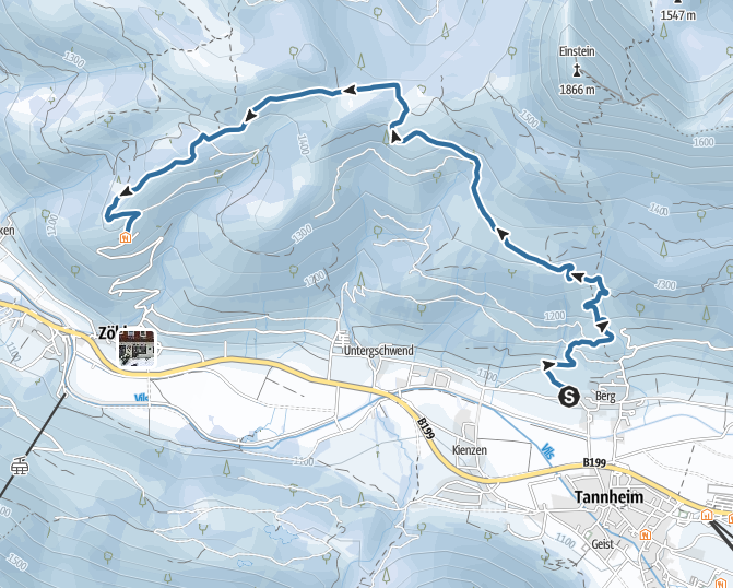 hiking in the untouched Tyrolean mountains