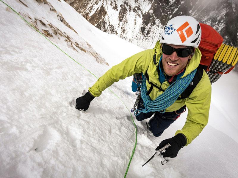 Bergführer Marcel Schenk von der Bergsteigerschule Pontresina