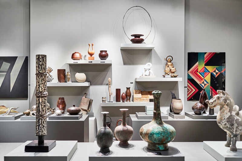 TEFAF visitors can get information from around 250 exhibitors