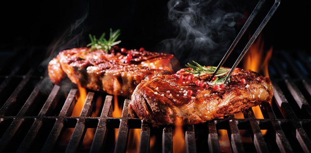 Steak auf Grill