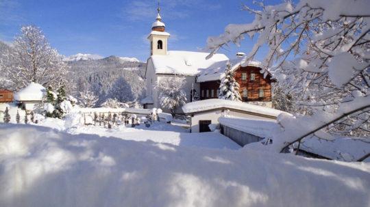 Winteridylle in Forstau // Foto: SalzburgerLand Tourismus