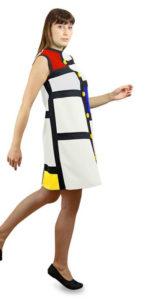Mondrian-Kleid