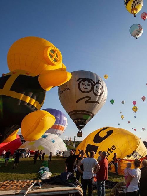 Ballon-Events: Spektakel am Himmel