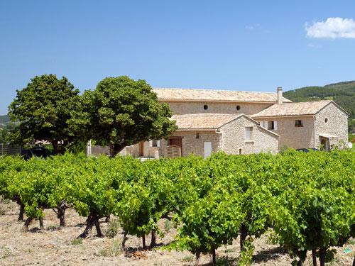 Wein an der Côte d'Azur