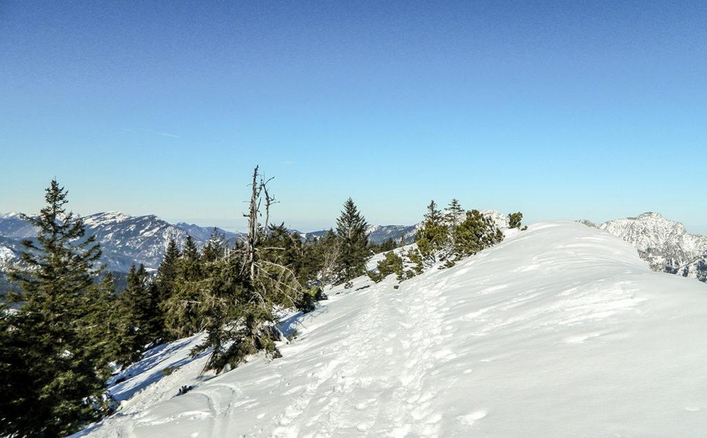 Lattengebirge: Abwechslungsreiche Landschaft mit überraschenden Ausblicken. © Ferienregion Berchtesgadener Land