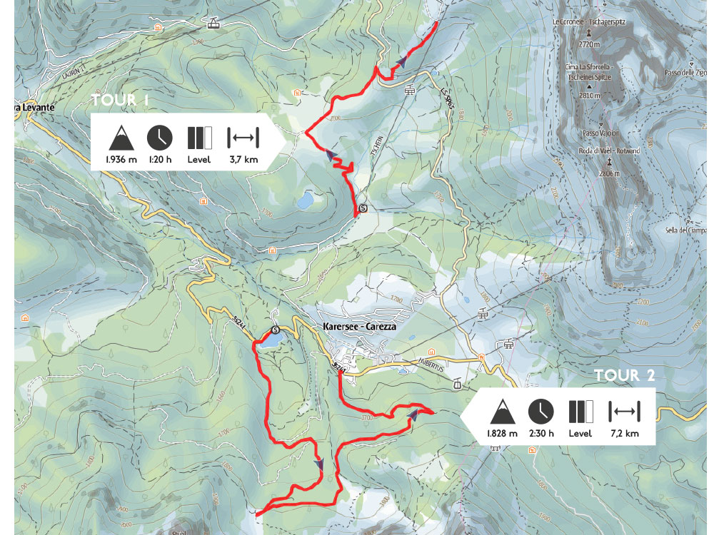 Auf Schneeschuhen durch die Südtiroler Berge