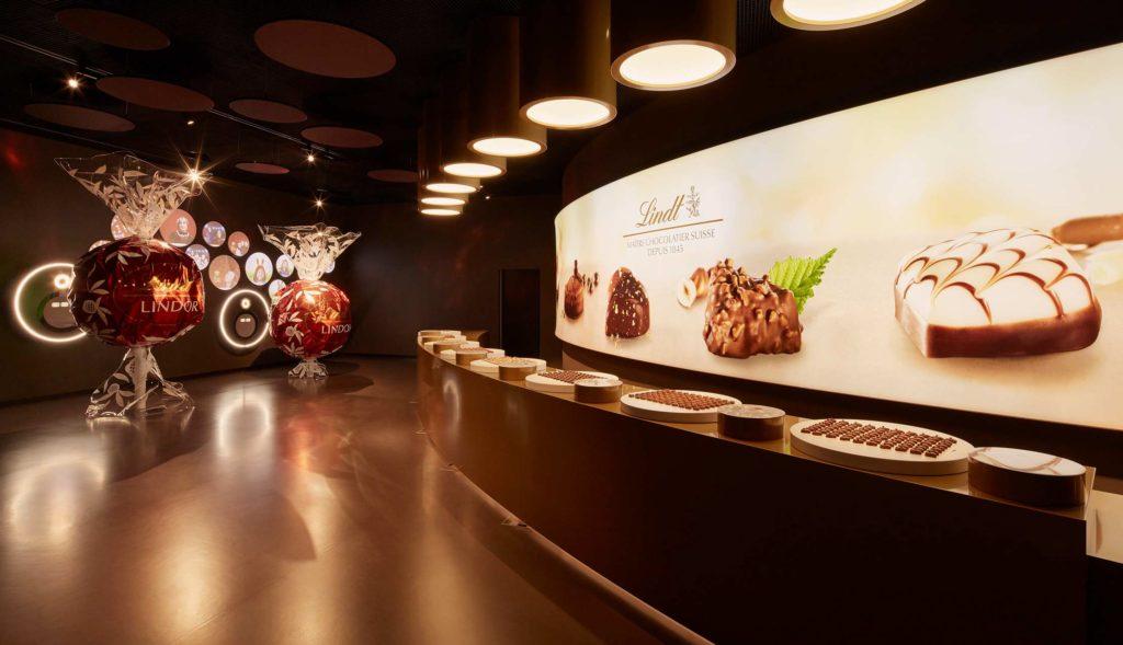 Paradies für Schoko-Fan: der größte Lindt Chocolate Shop der Welt. ©Lindt