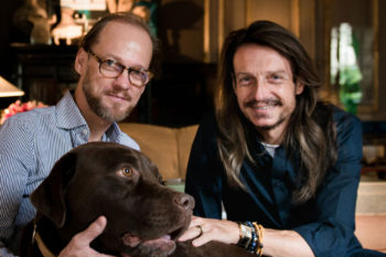 Jan Rosseel (left) and Marc Vergauwe.